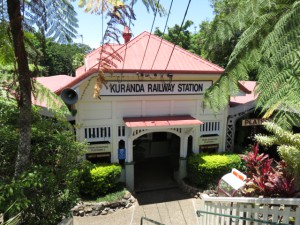 Kuranda Bahnhof