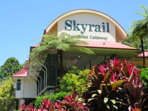 Kuranda - Rückfahrt von Kuranda mit der Skyrail