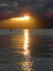 Fitzroy Island - Sonnenuntergang