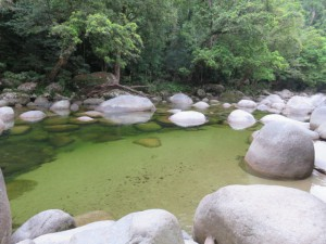 Mossman Gorge Nationalpark - Mossman River