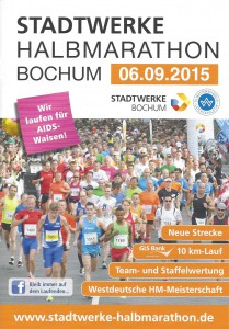 Stadtwerke Halbmarathon Bochum - Programmheft