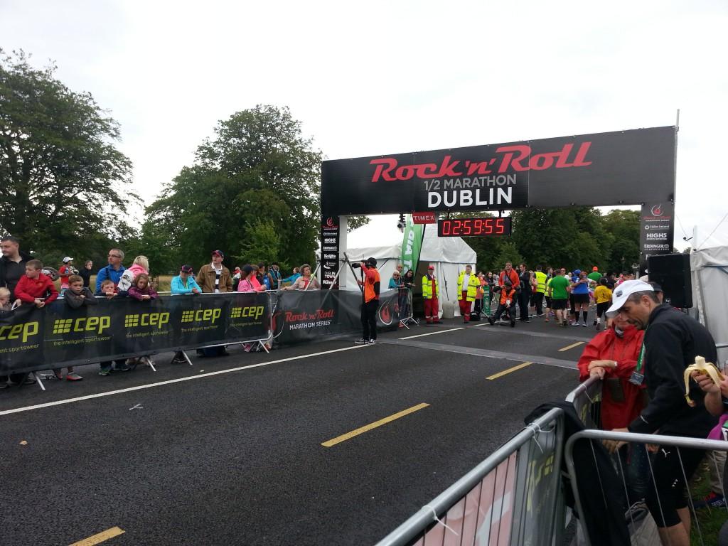 Dublin Halbmarathon - vor dem Start