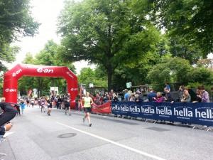 Halbmarathon – 21. hella hamburg halbmarathon, 21. Juni 2015: Zielbereich