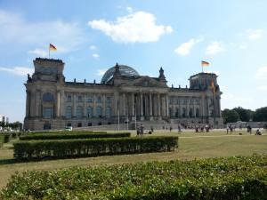 Sightseeing Berlin - Reichstag