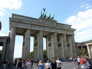 Sightseeing Berlin - Brandenburger Tor