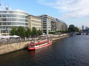 Sightseeing Berlin - Spreeufer