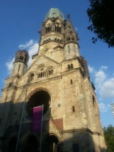 Sightseeing Berlin - Gedächtniskirche