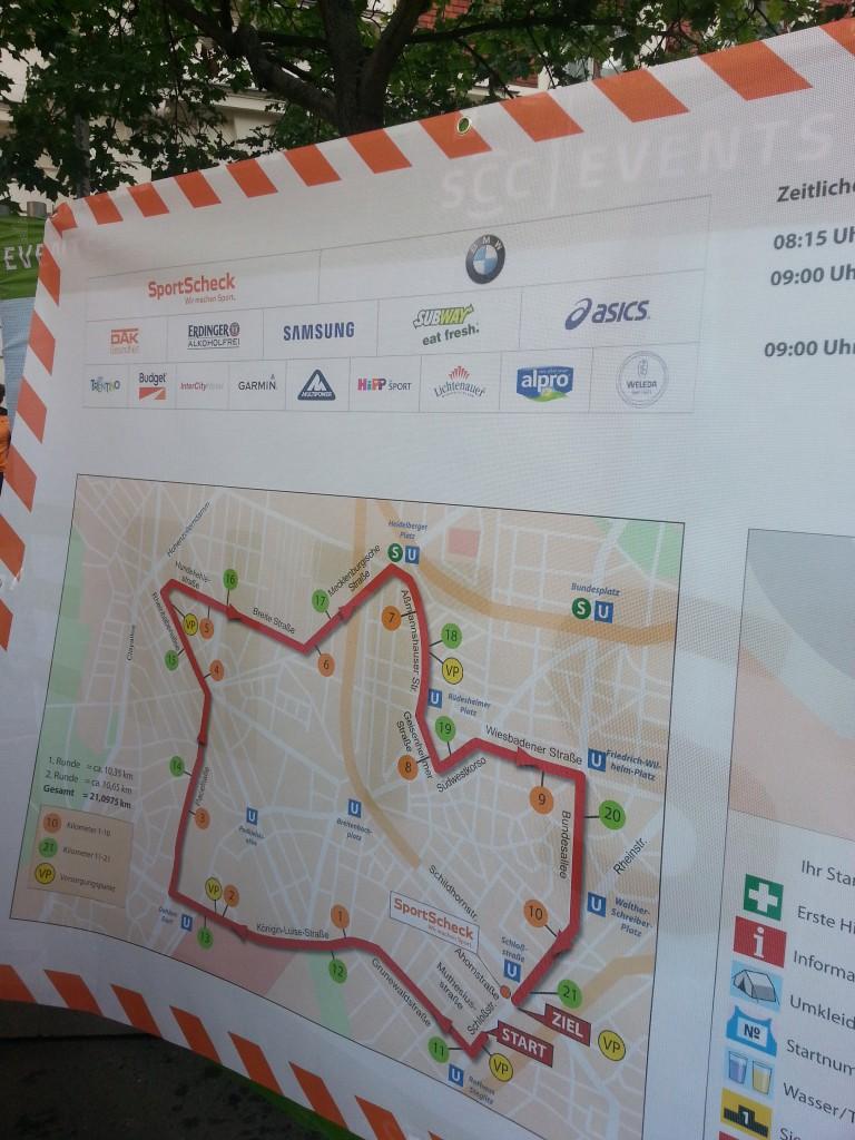7. Stadtlauf Berlin - vor dem Start