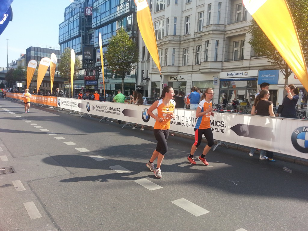 7. Stadtlauf Berlin - nach dem Lauf