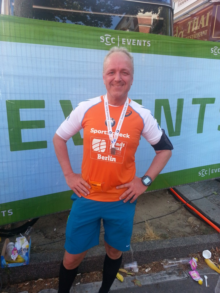 Halbmarathon - 7. StadtLauf Berlin, 24. August 2015