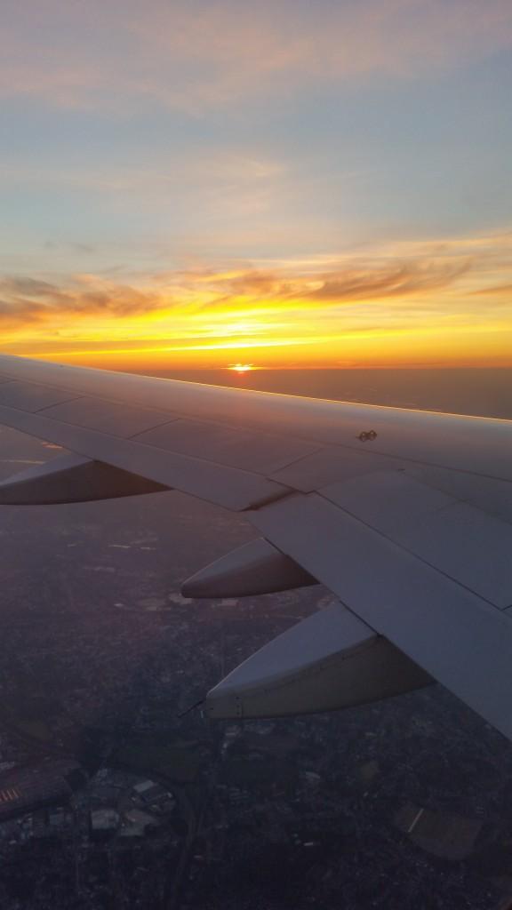Abflug nach Dublin