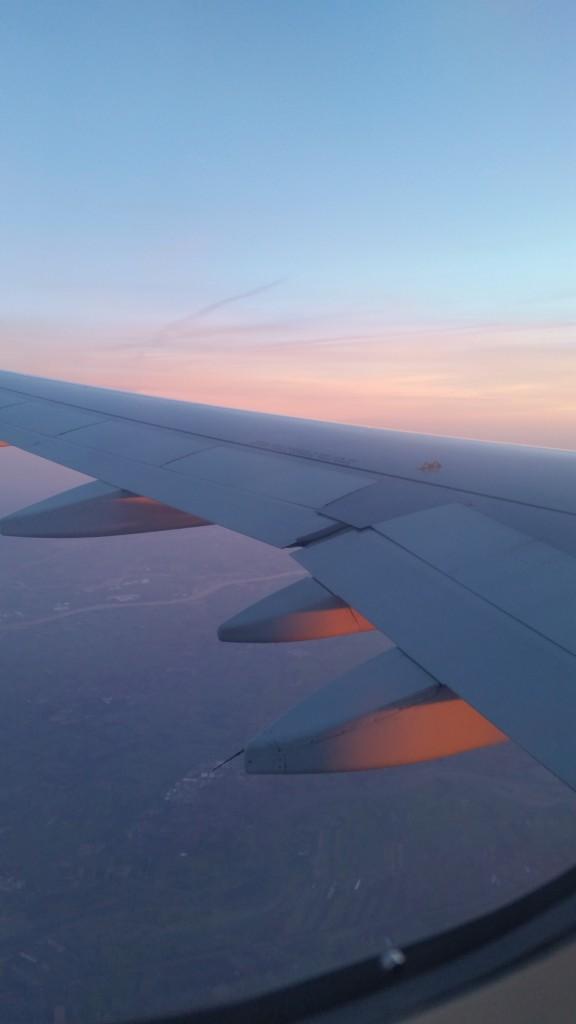 Auf dem Weg nach Dublin