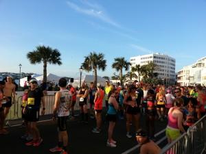 Bermuda Marathon Weekend - die Meute positioniert sich