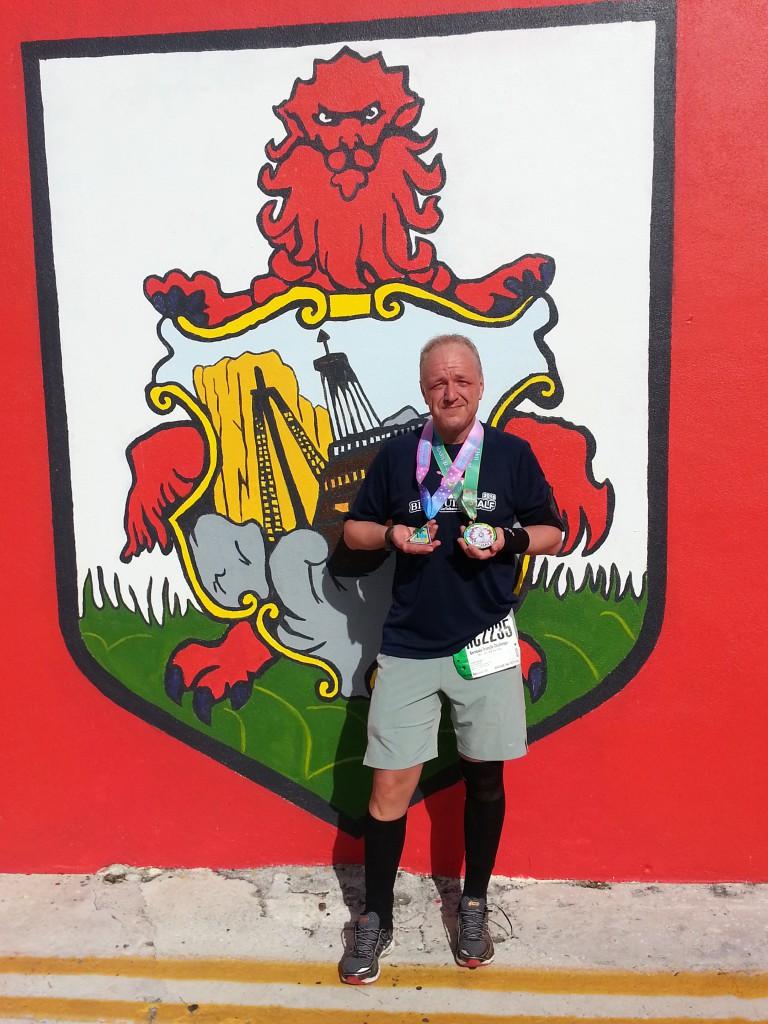 Bermuda Triangle Challenge - Halbmarathon, 17. Januar 2016