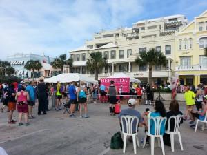 Bermuda Marathon Weekend - nach dem Lauf, Siegerehrung