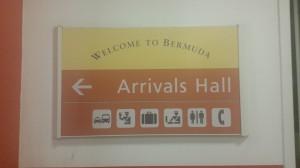 Ankunft auf den Bermudas