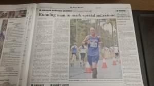 Royal Gazette, die Tageszeitung auf den Bermudas - mein Interview & Bericht in der Royal Gazette