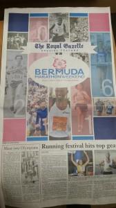 Royal Gazette, die Tageszeitung auf den Bermudas - Sonderteil zum Marathon WochenendeRoyal Gazette, die Tageszeitung auf den Bermudas - Sonderteil zum Marathon Wochenende
