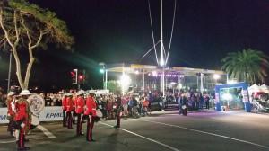 1-Mile-Run - Eröffnungsfeier auf der Front Street