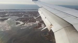 Anflug auf New York