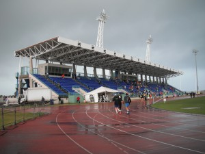 Bermuda National Stadium - vor dem Lauf