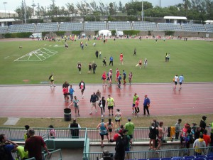 Bermuda National Stadium - nach dem Lauf