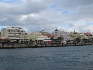 Bootsrundfahrt - Blick auf Hamilton