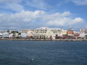 Bootsrundfahrt - Ausblick auf Hamilton