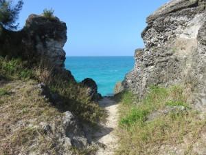 "Strandspaziergang ""Bermuda Railway Trail"""