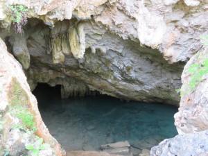 Blue Hole Park - eine Park-Grotte