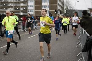 Halbmarathon - Auf der Strecke