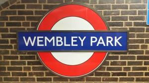 Das Ziel - Haltestelle Wembley Stadion