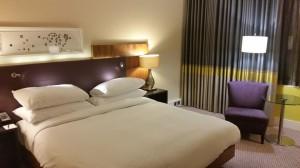 Mein Zimmer im Hilton Wembley