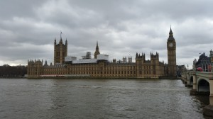 Westminster mit Big Ben