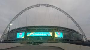 Wembley Stadion - Es ist angerichtet