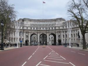 Auf dem Weg zum Trafalgar Square