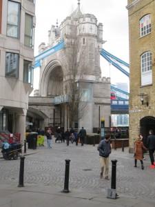 Docklands mit Blich auf London Bridge