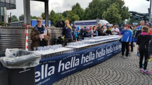 Halbmarathon – 22. hella hamburg halbmarathon, 26. Juni 2016: Startbereich Reeperbahn