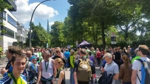 Halbmarathon – 22. hella hamburg halbmarathon, 26. Juni 2016: Im Ziel angekommen