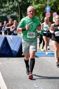Halbmarathon – 22. hella hamburg halbmarathon, 26. Juni 2016: Der Lauf, Zielbereich