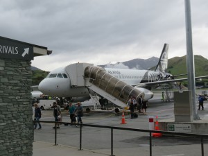 Queenstown - Mein Flieger nach Christchurch