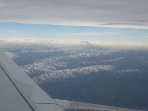 Flug von Queenstown nach Christchurch