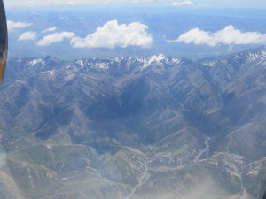 Flug von Christchurch nach Rotorua - Südinsel