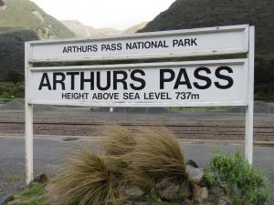 TranzAlpine Zug von Christchurch nach Greymouth - Zwischenstopp am Arthurs Pass