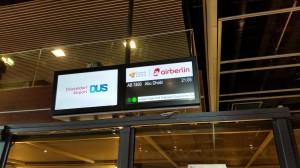 Flughafen Düsseldorf - Abflug