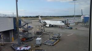 Sydney Flughafen - Der Flieger nach Christchurch