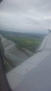 Ankunft in Neuseeland - das erste Foto