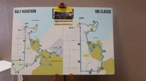 Rotorua - Novotel Rotorua Lakeside, Startnummernausgabe für den Halbmarathon