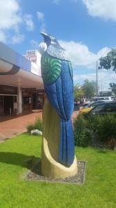 Rotorua - Kunstwerke aus Holz