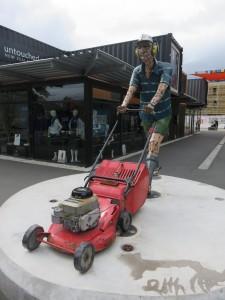 Christchurch - Kunstwerke in der Innenstadt